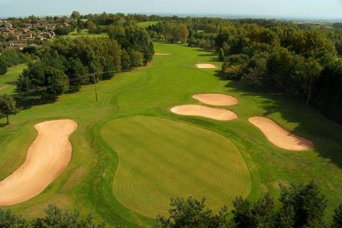 golf course telford hotel & golf
