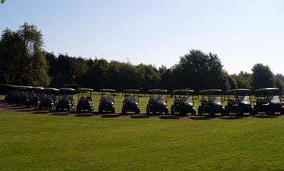 golf buggies telford hotel and resort