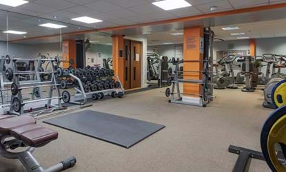 gym telford hotel and resort