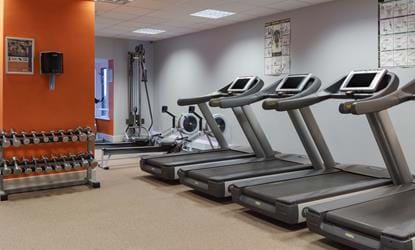 gym telford hotel and resort machines